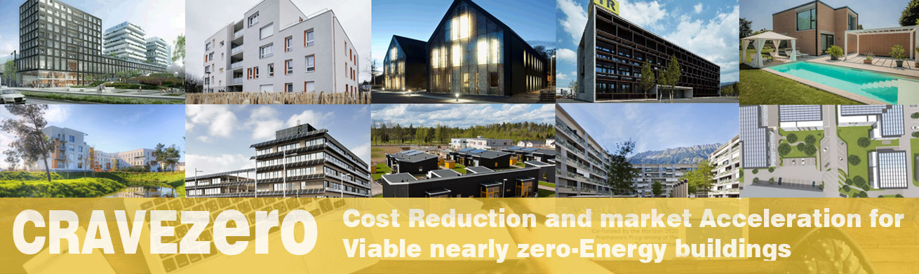 CRAVEzero – Cost Reduction and market Acceleration for Viable nearly zero-Energy buildings
